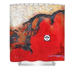 Talons Of Prey Shower Curtain by M Diane Bonaparte