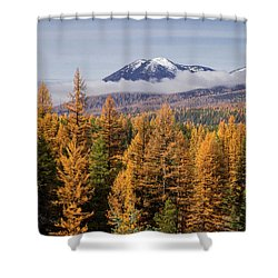 Tamarack Glory Shower Curtain