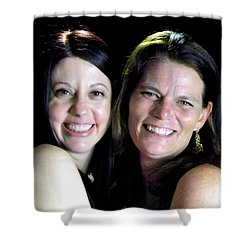 Tami Cheesman And Kim Richardson Shower Curtain