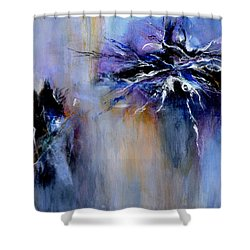 Taming The Blues Shower Curtain