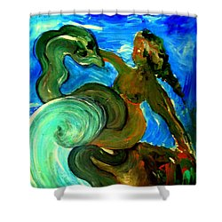 Taming Your Dragon Shower Curtain