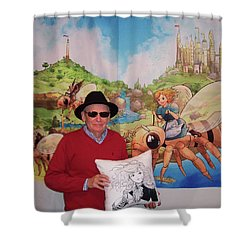 Tammy And Reynold Jay Shower Curtain