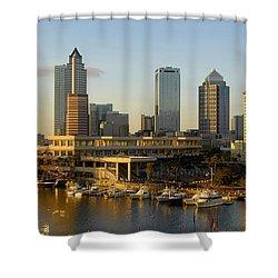 Tampa Bay And Gasparilla Shower Curtain