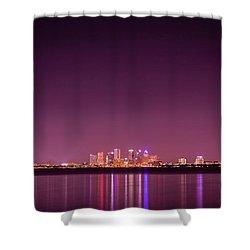 Tampa Bay Skyline Shower Curtain