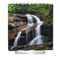Upper Dill Falls Shower Curtain