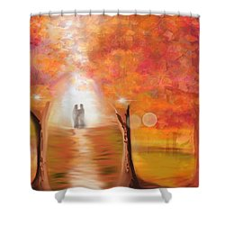 Tangerine Trees And Marmalade Skies #2 Shower Curtain