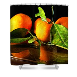 Tangerines Shower Curtain