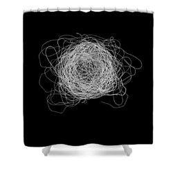 Tangled And Twisted Shower Curtain
