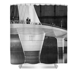 Tango Bridge Shower Curtain