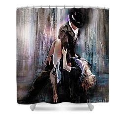 Tango Couple 05 Shower Curtain