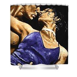 Tango Heat Shower Curtain by Richard Young