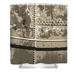 Tank Wall Shower Curtain