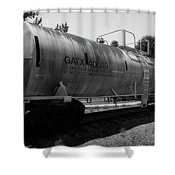 Tanker Shower Curtain