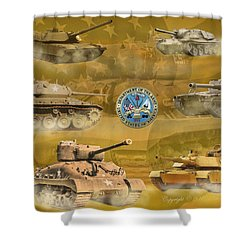Tanks Four Shower Curtain