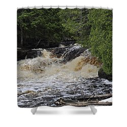 Tannic Waters Shower Curtain