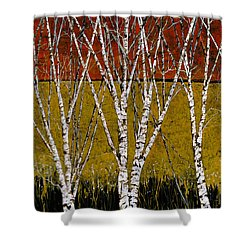 Tante Betulle Shower Curtain by Guido Borelli