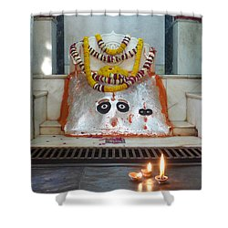 Shower Curtain featuring the photograph Tantric by Jean luc Comperat