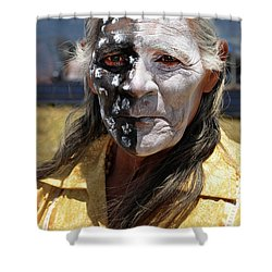 Taos Elder Shower Curtain
