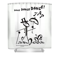 Tap Shower Curtain