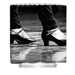 Tap Shoes Shower Curtain by Lauri Novak