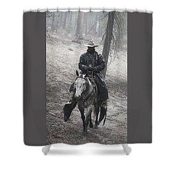 Tapadero Cowboy Shower Curtain