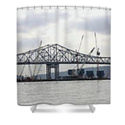 Tappan Zee Bridge From Tarrytown Shower Curtain