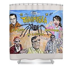 Tarantula - 1955 Lobby Card That Never Was Shower Curtain
