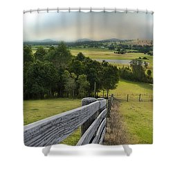 Taree West 01 Shower Curtain
