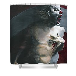 Target Practice Shower Curtain