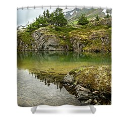 Tarns Of Nagoon 172 Shower Curtain