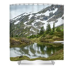 Tarns Of Nagoon 209 Shower Curtain