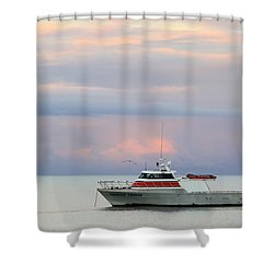 Shower Curtain featuring the photograph Tasha's Choice by Stephen Mitchell