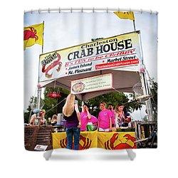 Taste Of Charleston Shower Curtain
