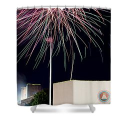 Taste Of Dallas 2015 Fireworks Shower Curtain