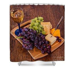 Taste Of The Grape Shower Curtain