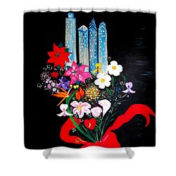 Tattoo Shower Curtain