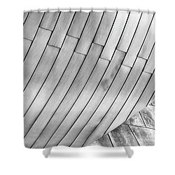 Taubman Museum Abstract Shower Curtain