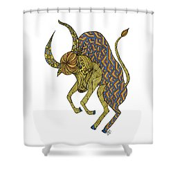 Taurus Shower Curtain
