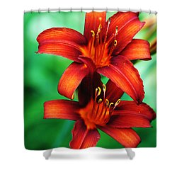 Tawny Beauty Shower Curtain