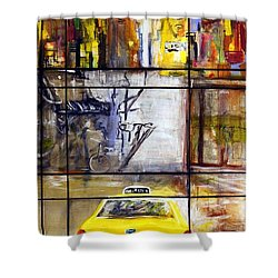 Taxi 7 Shower Curtain
