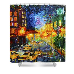 Taxi Cabs Shower Curtain