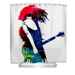 Taylor Watercolor Shower Curtain by Naxart Studio