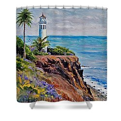 #tbt #artist#impressionism Shower Curtain