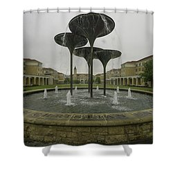 Tcu Campus Commons Shower Curtain
