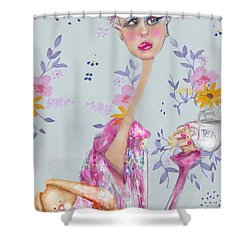 Tea For Me Shower Curtain