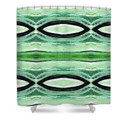 Tea Garden 2- Art By Linda Woods Shower Curtain