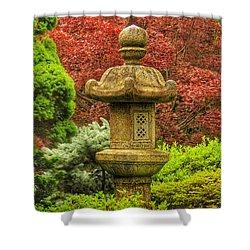 Tea Garden Shower Curtain
