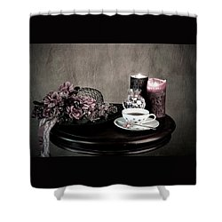 Tea Party Time Shower Curtain