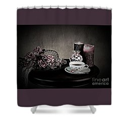 Tea Time 2nd Rendition Shower Curtain