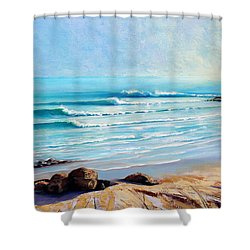 Tea Tree Bay Noosa Heads Australia Shower Curtain